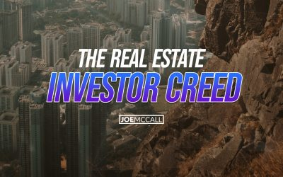 The Real Estate Investor Creed