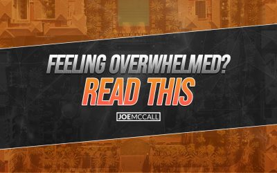 Feeling overwhelmed? Read this :-)