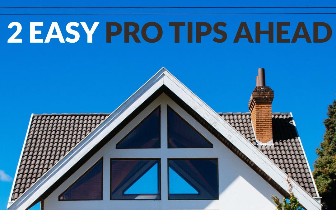 2 easy pro tips ahead