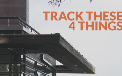 Track these 4 things