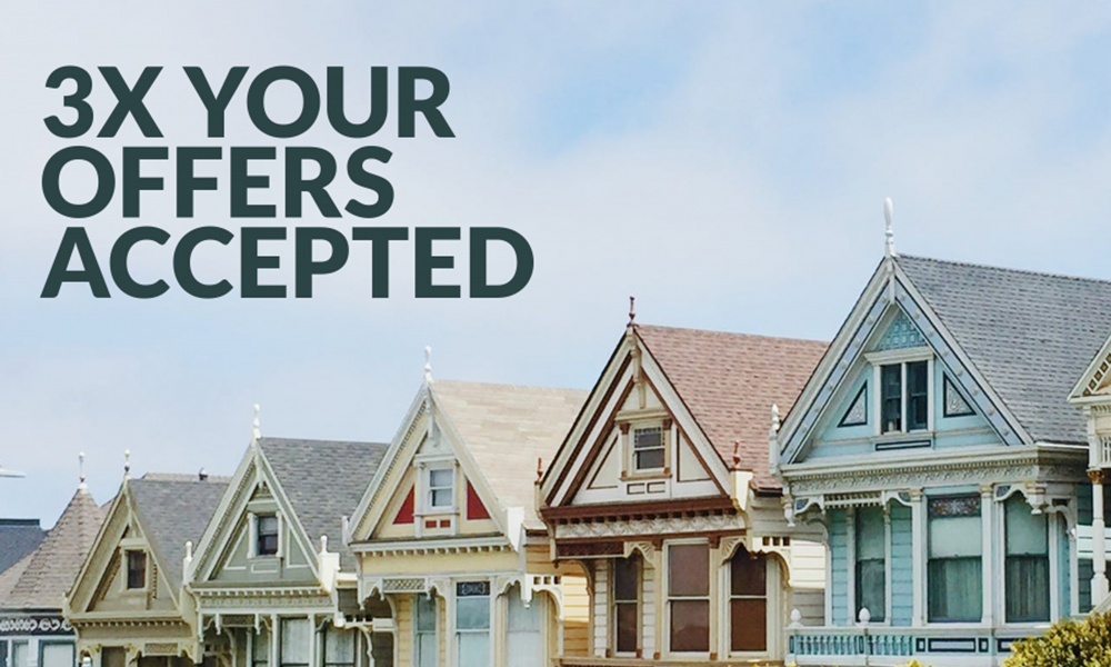3x your offers accepted
