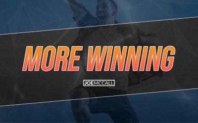 More winning
