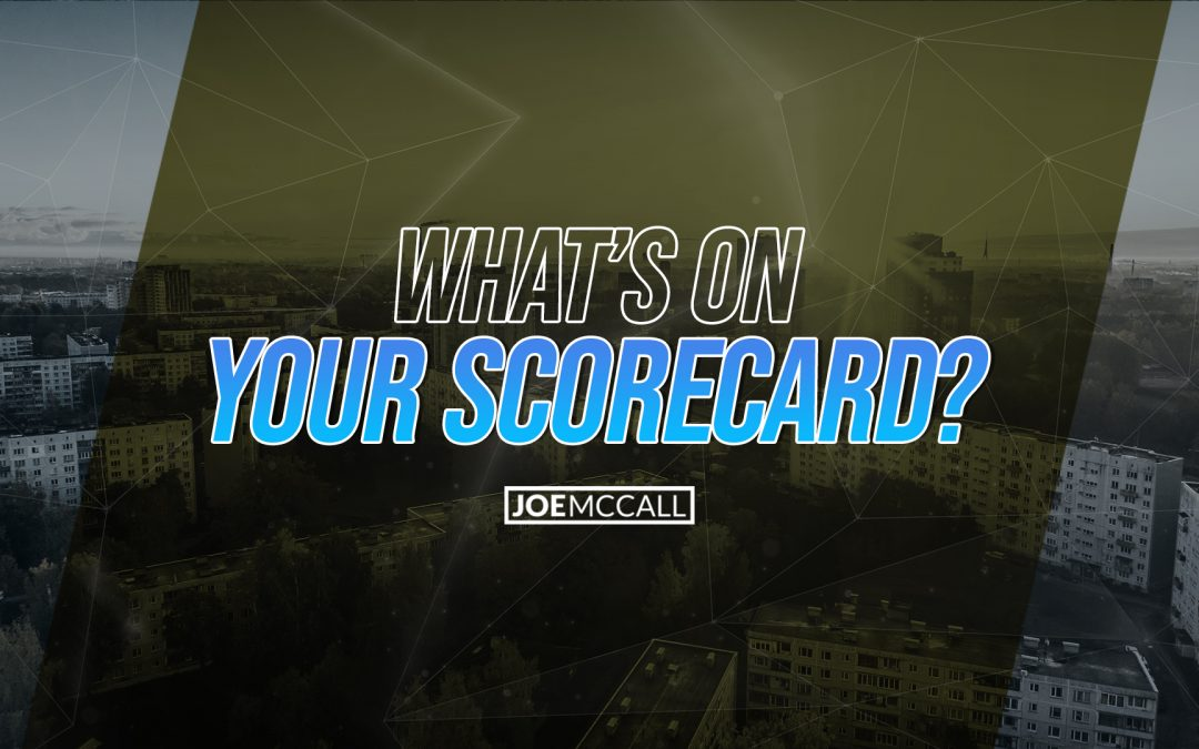 What's on your scorecard?