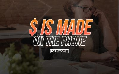$ is made on the phone